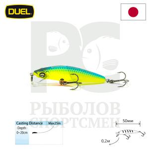 "Воблер ""Duel"" Hardcore Minnow Bass  50mm F1038-MBCL"