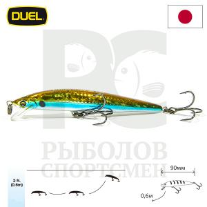 "Воблер ""Duel"" Hardcore Minnow Bass  90mm F1040-HSH"