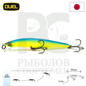 "Воблер ""Duel"" Hardcore Minnow Bass  90mm F1040-MBCL"