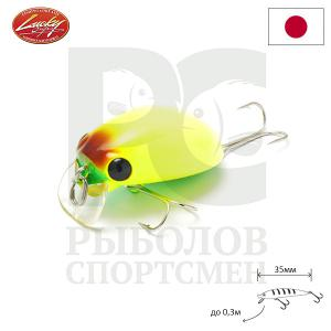 "Воблер ""Lucky Craft"" Gengoal 35F 0603 Insect Yellow 879"